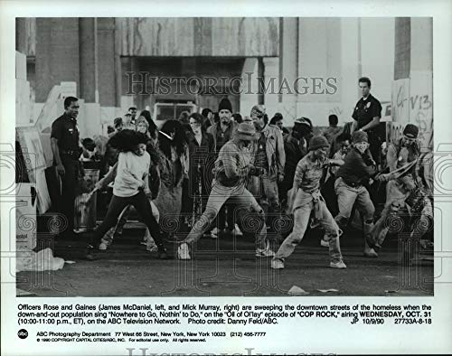Vintage Photos 1990 Press Photo Scene from Cop Rock. - hcp03278 (Best Scenes From Cops)
