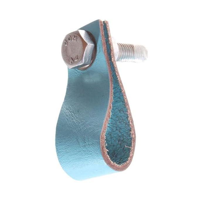 Schrankgriffe Aus Leder In 5 Farben Als Vintage Schrankknopfe 1