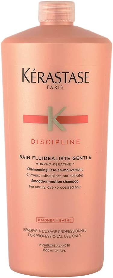 Kérastase Discipline Morpho-Keratine Fluidaliste Champú para cabello coloreado,1 unidad (1 x 1000 ml)