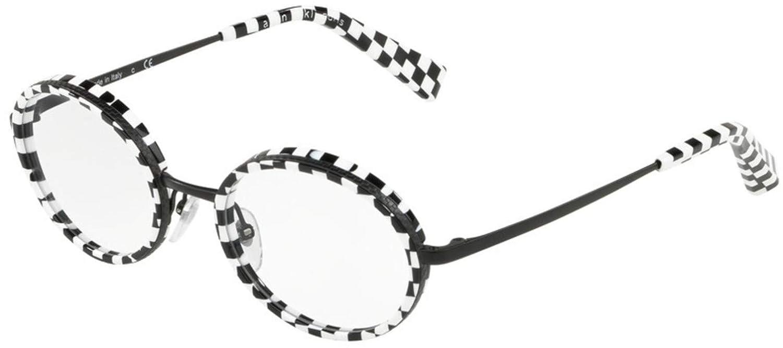 Eyeglasses Alain Mikli A 2026 001 BW DAMIER//MATTE BLACK