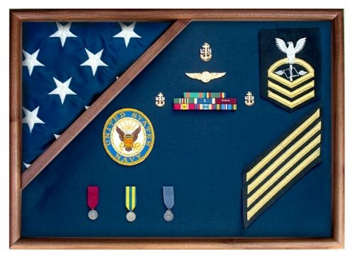 Flag Display Case American Flag Box Burial Flag Case by American Flag Frames