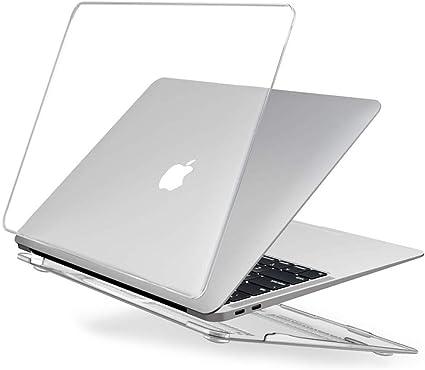 EooCoo Coque MacBook Air 13 Pouces A2337 A2179 A1932, Plastique Case Rigide  Étui pour Nouveau 2020 2019 2018 MacBook Air 13.3 Retina avec Touch ID -  Transparent Clair: Amazon.fr: High-tech