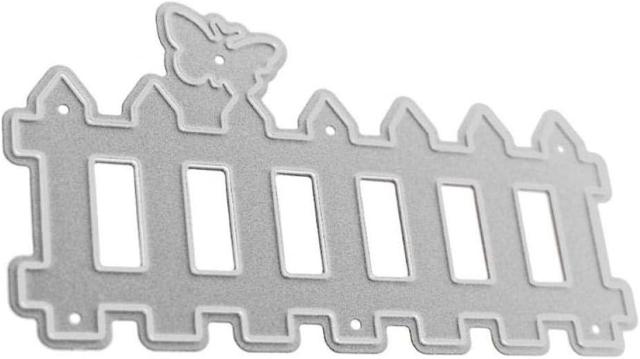 Zonster El Corte Valla metálica Dies de Estampado Plantillas DIY Scrapbooking para Álbum de Fotos Sello del sobre de Papel Decorativo Tarjetas de Bricolaje Muere Corte