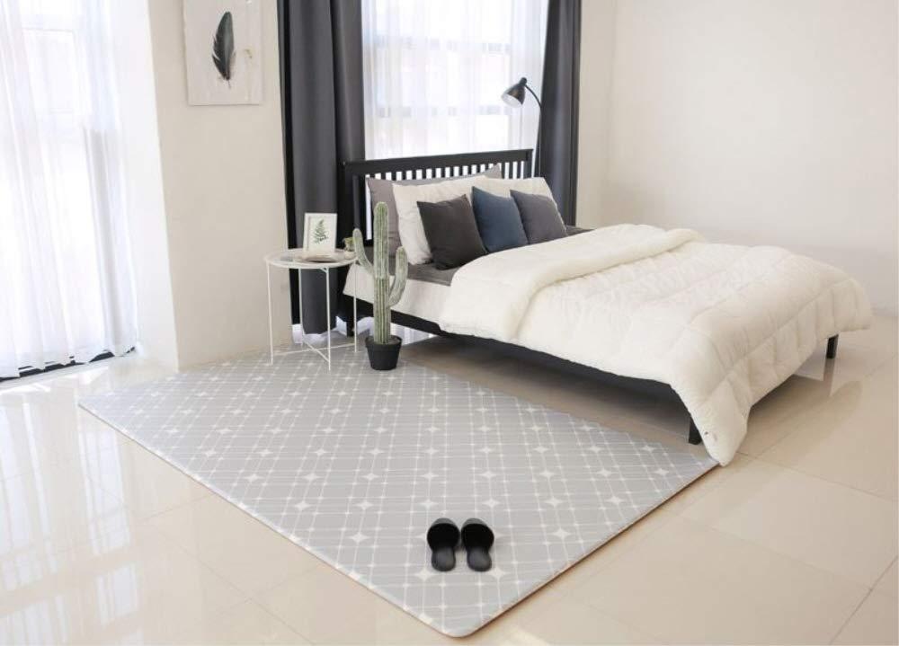 Airliz Shining Gray living room mat 層間騒音防止保育園マットリビングマット(海外直送品) (70x180x1.2cm) 70x180x1.2cm  B07PXWKGRD