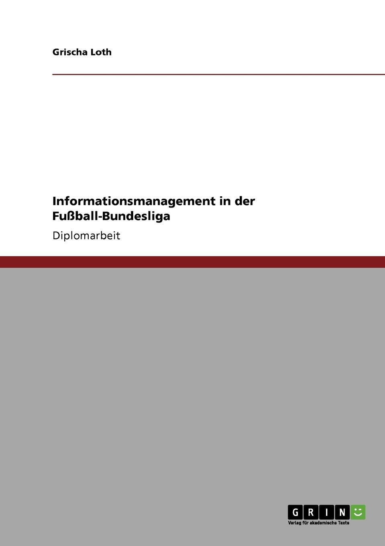 Informationsmanagement in der Fußball-Bundesliga (German Edition) pdf