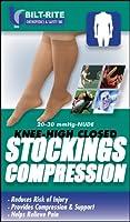 Bilt-Rite Mastex Health Knee High Stockings, Sand, X-Large