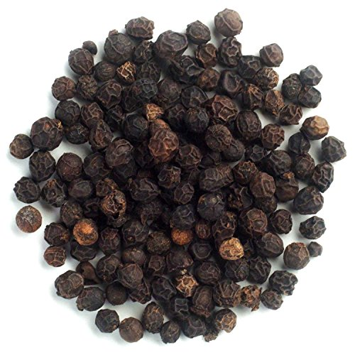 Frontier Co-op Organic Fair Trade Certified Black Peppercorns, Whole, 1 Pound Bulk Bag