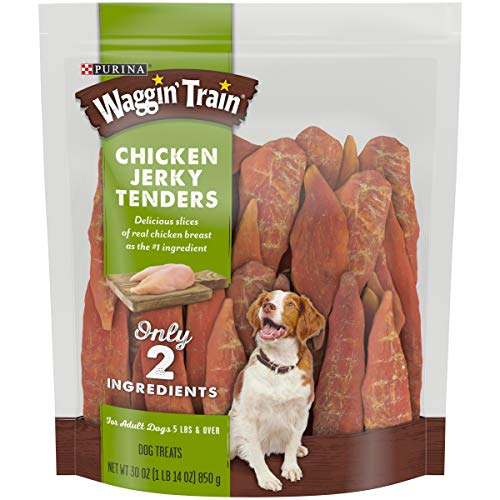 (Purina Waggin' Train Limited Ingredient, Grain Free Dog Treat; Chicken Jerky Tenders - 30 oz. Pouch)