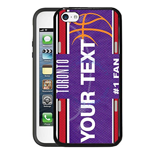 BRGiftShop Customize Your Own Basketball Team Toronto Rubber Phone Case for Apple iPod Touch 5th & 6th Generation (Ipod Case Drake)