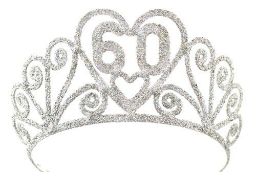 Silver 60 Sparkle Tiara by