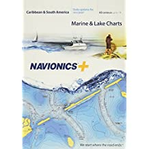 Navionics Caribbean & S. America, Tarjeta SD náutica en Tarjeta SD/Micro-SD – MSD/Nav+3XG