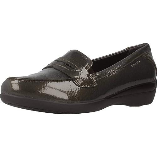 Mocasines para Mujer, Color Rojo, Marca STONEFLY, Modelo Mocasines para Mujer STONEFLY Venus II 42 Rojo: Amazon.es: Zapatos y complementos