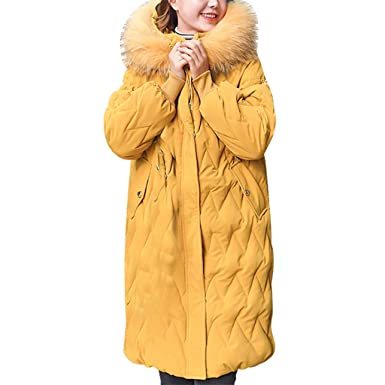 Poachers Chaquetas Mujer Primavera Grandes Traje de algodón cálido ...