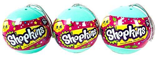 Amazon.com: Shopkins - Christmas Ornament 2 Shopkins In A Bauble ...