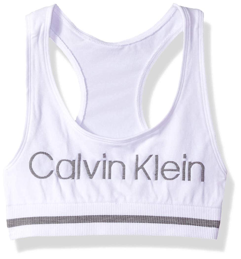 58e539d0489f03 Amazon.com  Calvin Klein Girls Seamless Sports Bra  Clothing