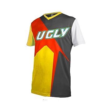 Uglyfrog Designs Bike Wear Mens Downhill Motocross Jersey Rage MTB Cycling  Top Cycle Short Sleeve Summer 1b95a5b1c