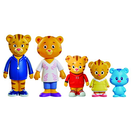 Daniel Tiger's Neighborhood Friends Family Figure (5 Pack)]()