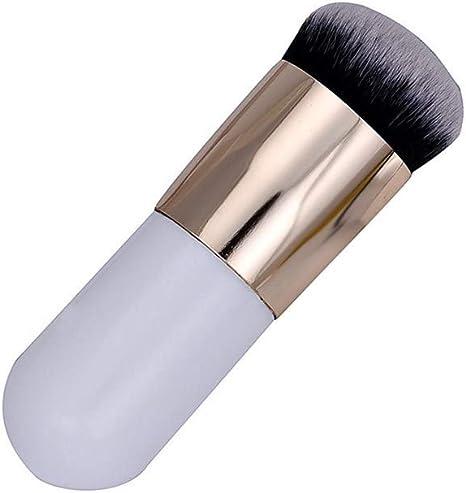 EUCoo - Brocha plana para base de maquillaje, práctica y fácil de ...