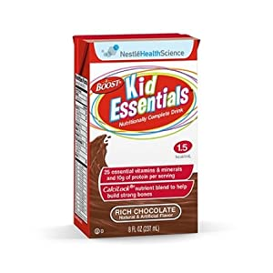 Boost Kid Essentials 1.5 Nutrition Chocolate Flavor 8 oz. (Case of 27)