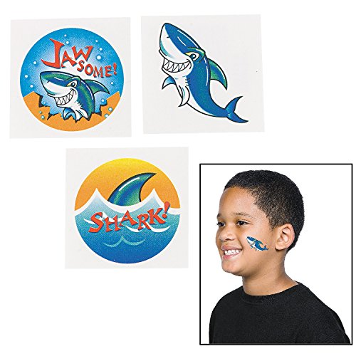 ocean shark party favor - 7