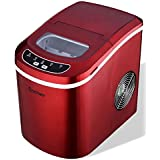 K&A Company Ice Machine Maker Electric Snow Shaver Cone Crusher Shaved Ice Stainless Shaving Red