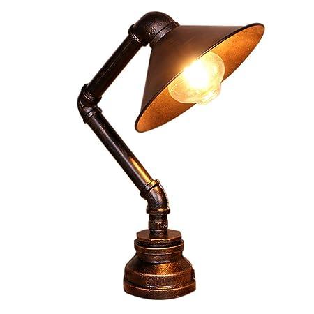 Beautiful lamps / Lámpara de mesa Hierro forjado Tubo de hierro ...