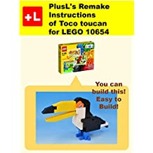 PlusL's Remake Instructions of Toco toucan for LEGO 10654: You can build the Toco toucan out of your own bricks!