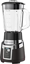Black & Decker BL1830SGC-P 2-in-1 Rapid Crush Blender with Personal Blender Jar Attachment, Silver