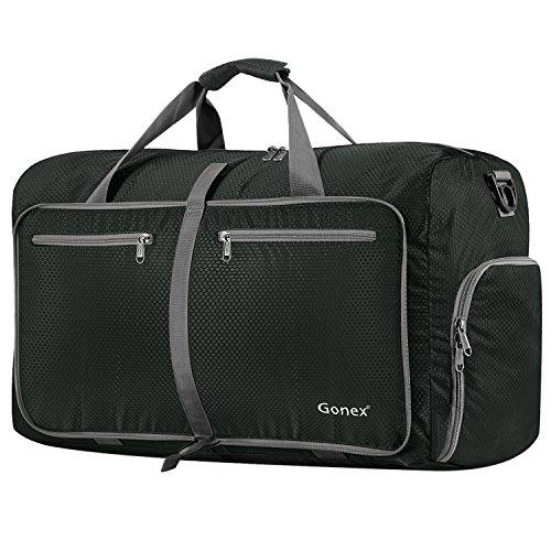 Gonex 80L Packable Travel Duffle Bag, Large Lightweight Lugg