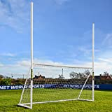 FORZA 10ft x 6ft Combination Soccer / Rugby / Gaelic Football Goal & Net - The Perfect Combination For Training Your Future Stars [Net World Sports]