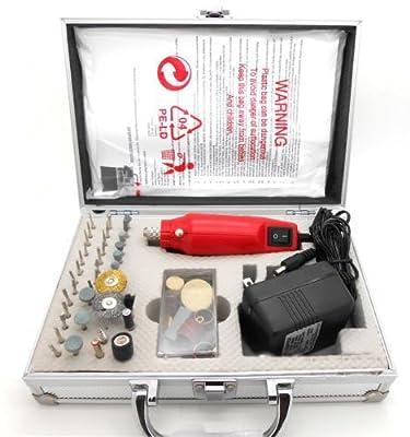 60PC Rotary Tool Kit Hobby Craft Cut Drill Grind Glass Jewelry fits Dremel bits