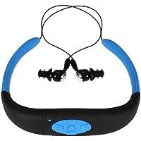 Sport – MP3 voor hardlopen, waterdicht, MP3-speler, hoofdtelefoon met FM-radio, zwemmen, surfen en duiken, 8 GB geheugen…