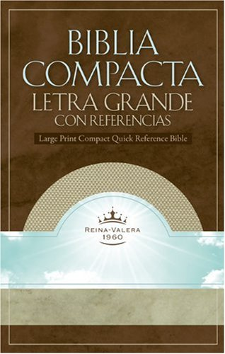 Biblia Compacta Letra Grande: Reference Bible (Version Reina ...