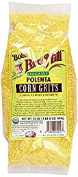 Bob\'s Red Mill Organic Corn Grits/Polenta - 24 oz - 2 Pack