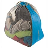 Sea to Summit Travelling Light Laundry Bag 11.8 x 5.9 x 15.4 2.4 ounce (blue grey)