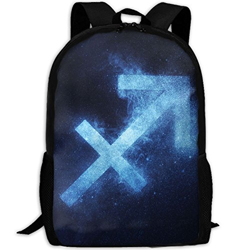 Sagittarius In The Abstract Night Sky Interest Print Custom Unique Casual Backpack School Bag Travel Daypack Gift