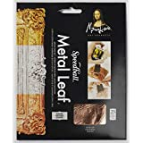 Speedball 10205 Mona Lisa Genuine Copper Leaf, 25 Sheet Pack
