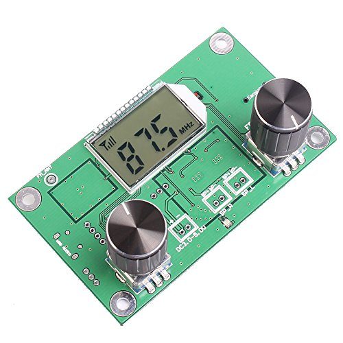 Fm Mini Receiver - Icstation Mini Digital FM Radio Wireless Receiver Module LCD Display DSP PLL 76.0MHz-108.0MHz