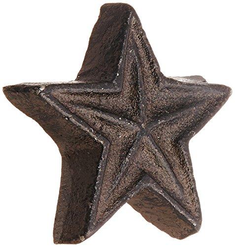 Abbott Collection Dark Brown Star Drawer Knob