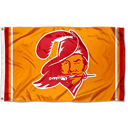 Tampa Bay Buccaneers Throwback Flag and (Nfl Throwback Pennant Flag)