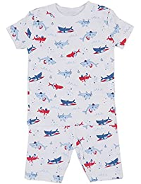 Baby Boys Sea Shenanigans Print Short Pajamas