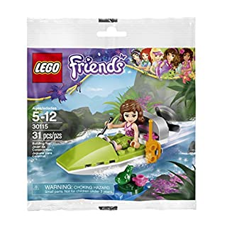 LEGO, Friends, Jungle Air Boat with Olivia Bagged (30115)
