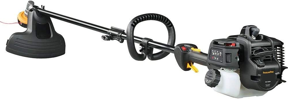 Poulan Pro PR28SD Renewed 17 in 28cc 2-Cycle Gas Straight Shaft String Trimmer