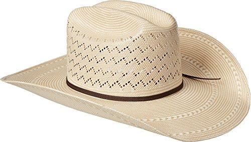 Ariat Men's 20x Cheveron Double S Cowboy Hat, Natural, 7 5/8 by Ariat