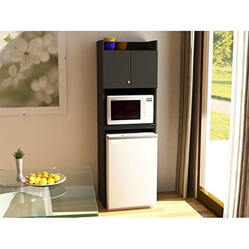 over refrigerator cabinet storage - 1