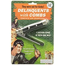 Accoutrements 11763 Delinquents Switchblade Comb