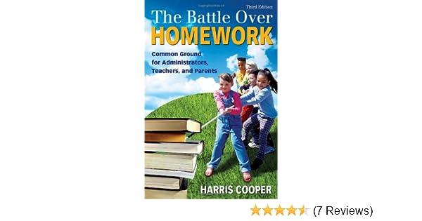 The battle over homework
