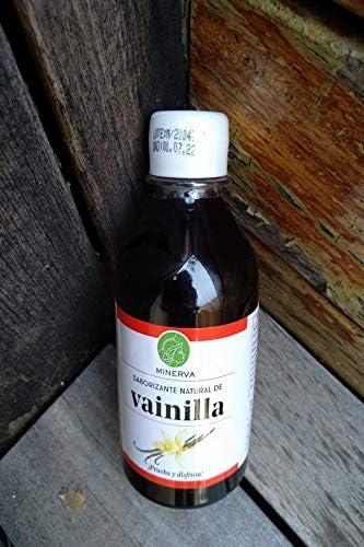 Saborizante Vainilla liquida Minerva 270 ml: Amazon.es: Salud ...