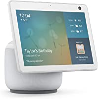 $199 » Echo Show 10 (3rd Gen) | HD smart display with motion and Alexa | Glacier White