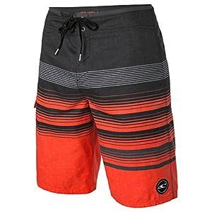 O'Neill Lennox Catalina 2.0 Men's Board Shorts, Charcoal Red, Size 36